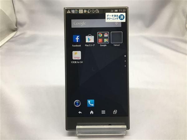 【中古】【安心保証】 Y!mobile 402SH ブラック