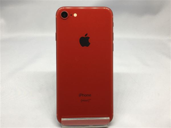 【中古】【安心保証】 SoftBank iPhone8[64GB] レッド