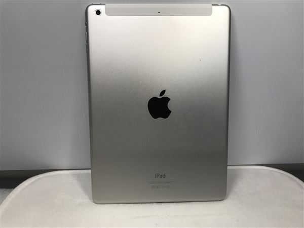 【中古】【安心保証】 SoftBank iPadAir 1[セルラー128G] シルバー