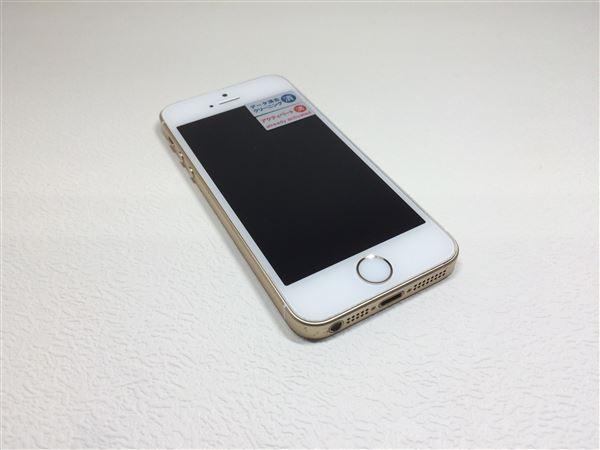 【中古】【安心保証】 SoftBank iPhoneSE[16G] ゴールド