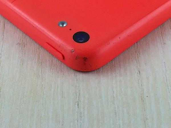 【中古】【安心保証】 au iPhone5c[16G] ピンク