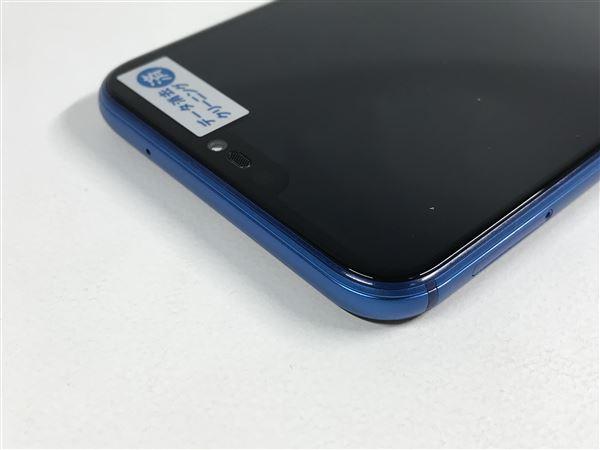【中古】【安心保証】 au HWV32 クラインブルー