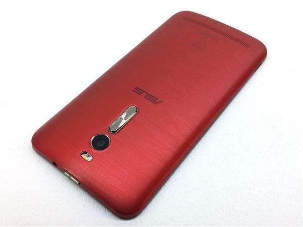【中古】【安心保証】 SIMフリー ZenFone2[32G2G] レッド