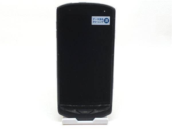 【中古】【安心保証】 au KYV35 ブラック
