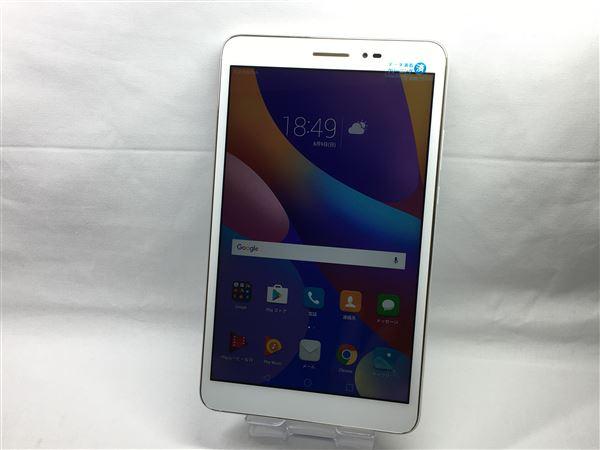 【中古】【安心保証】 MediaPad T2 8 Pro[LTE] ホワイト