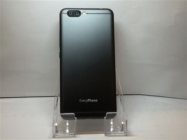 【中古】【安心保証】 SIMフリー EveryPhone DX ブラック