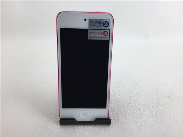 【中古】【安心保証】 iPodtouch_6[32GB](ピンク)MKHQ2J