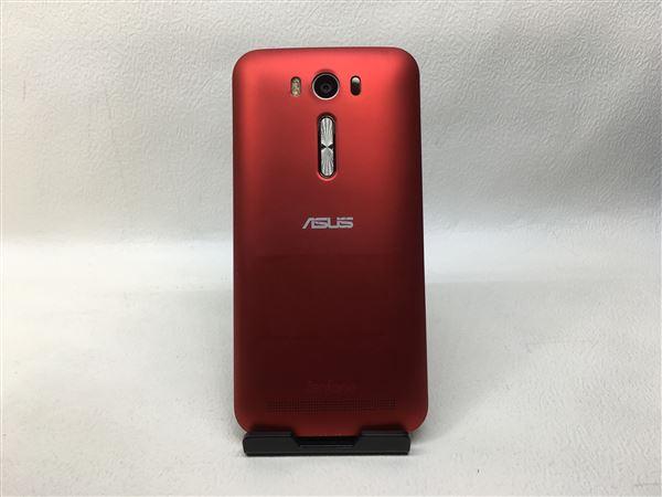【中古】【安心保証】 SIMフリー ZenFone2Laser[16G] レッド