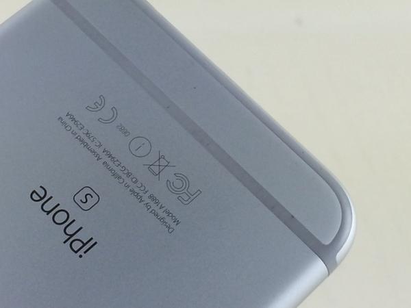 【中古】【安心保証】 au iPhone6s[16G] シルバー