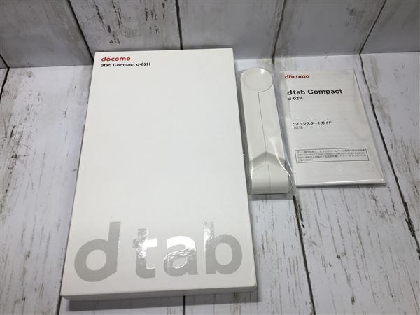 【中古】【安心保証】 docomo dtab compact d-02H シルバー