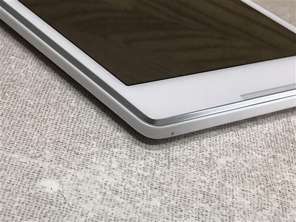 【中古】【安心保証】 SoftBank Lenovo TAB 2 501LV パールホワイト