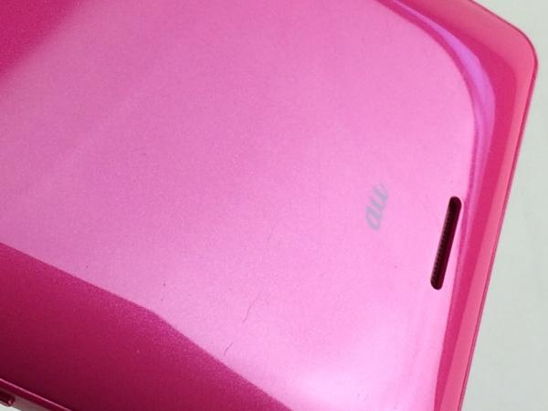 【中古】【安心保証】 au SOL22 ピンク