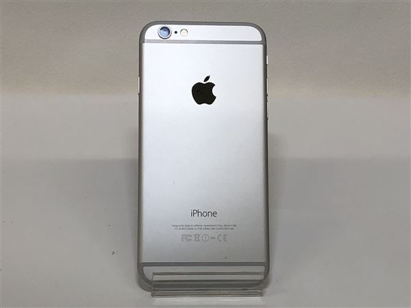 【中古】【安心保証】 SoftBank iPhone6[16G] シルバー