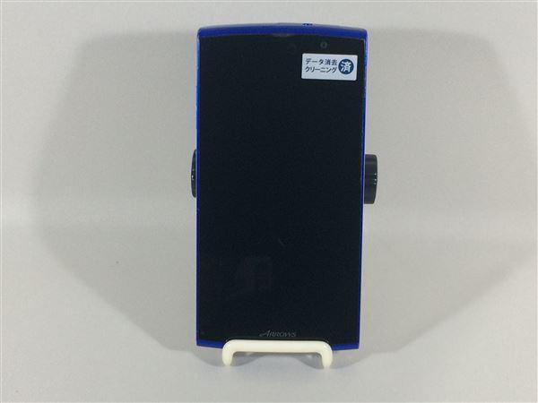 【中古】【安心保証】 SoftBank 202F グレースブルー