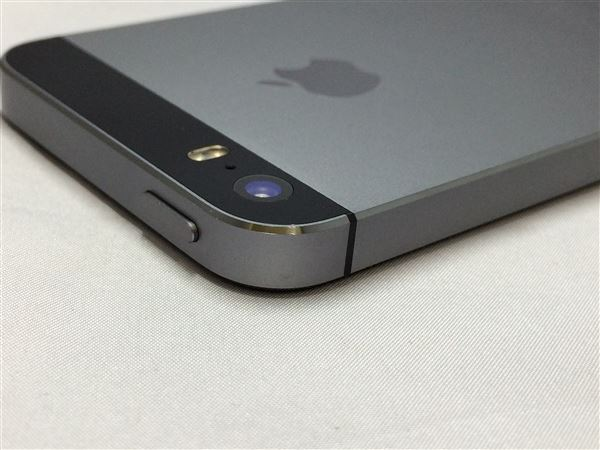 【中古】【安心保証】 au iPhone5s[16G] スペースグレイ