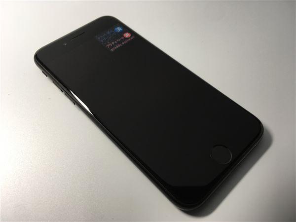 【中古】【安心保証】 docomo iPhone7[128G] ジェットブラック