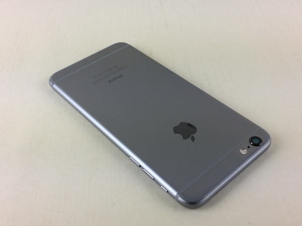 【中古】【安心保証】 docomo iPhone6Plus[128G] スペースグレイ
