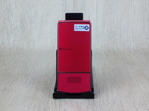 【中古】【安心保証】 SoftBank 940N ピンク