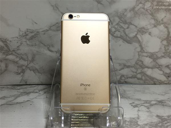 【中古】【安心保証】 docomo iPhone6s[128G] ゴールド