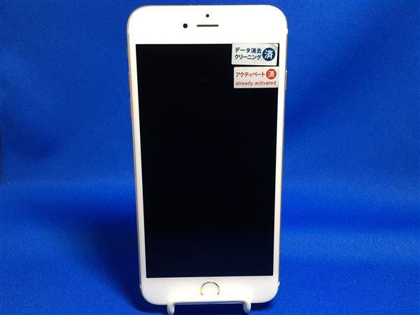 【中古】【安心保証】 SoftBank iPhone6sPlus[64G] ゴールド
