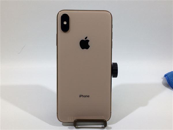 【中古】【安心保証】 au iPhoneXSMax[256G] ゴールド