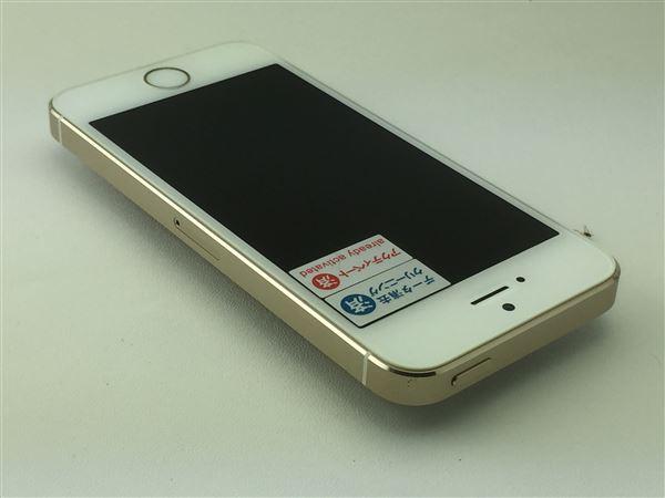 【中古】【安心保証】 au iPhone5s[32G] ゴールド