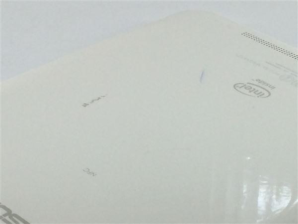 【中古】【安心保証】 au AST21[MeMOPad8] パールホワイト
