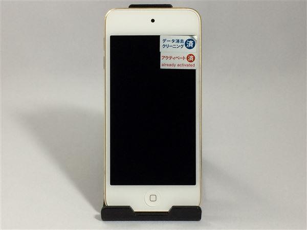 【中古】【安心保証】 iPodtouch_6[16GB](ゴールド)MKH02J