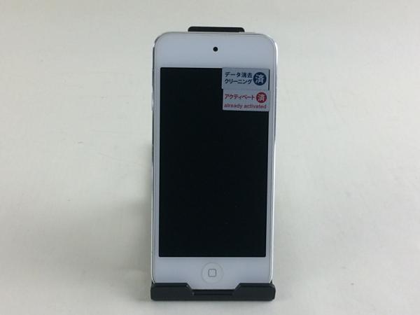 【中古】【安心保証】 iPodtouch5[32GB](ホワイトシルバ) MD720J