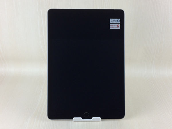【中古】【安心保証】 SoftBank 9.7iPad 5[セルラー32G] スペースグレイ