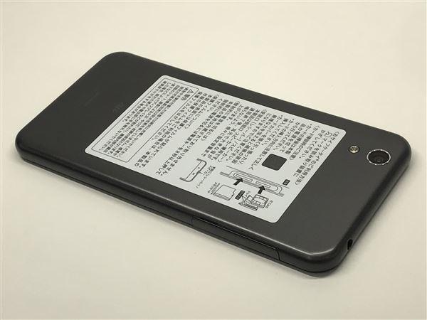 【中古】【安心保証】 au SHV37 メタルブラック