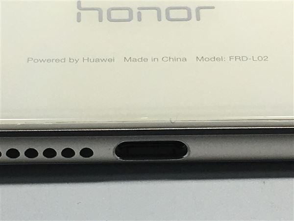 【中古】【安心保証】 SIMフリー honor8 パールホワイト