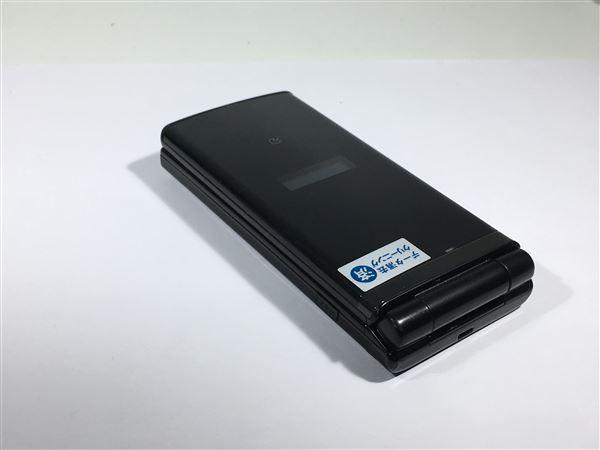 【中古】【安心保証】 au K006[KY006] グロッシーブラック
