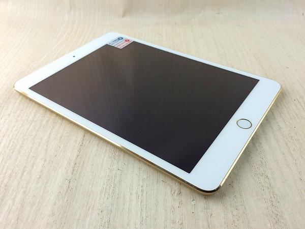 【中古】【安心保証】 SoftBank iPadmini3[WiFi+4G 16] ゴールド