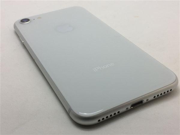 【中古】【安心保証】 SoftBank iPhone8[256G] シルバー