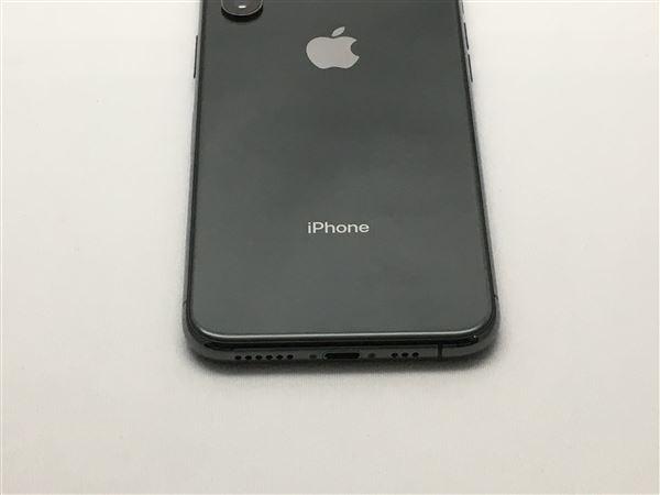 【中古】【安心保証】 au iPhoneXS[256G] スペースグレイ