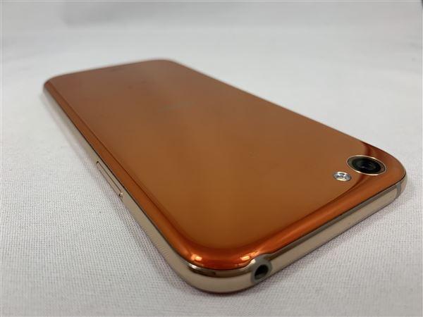 【中古】【安心保証】 SoftBank 605SH ブレイズオレンジ