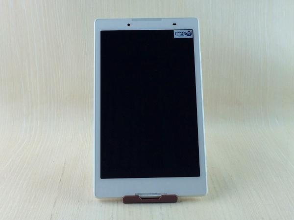 【中古】【安心保証】 SoftBank Lenovo TAB 3 601LV ポラールホワイト