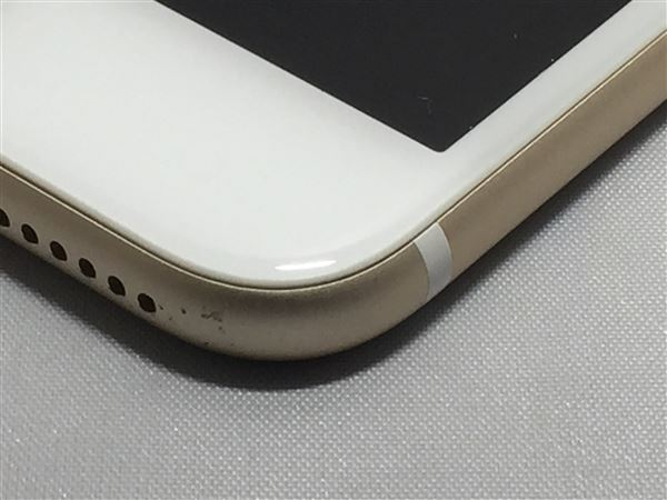 【中古】【安心保証】 au iPhone7Plus[128G] ゴールド