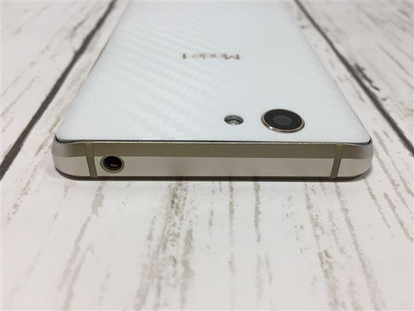 【中古】【安心保証】 SIMフリー Mode1 RS ホワイト