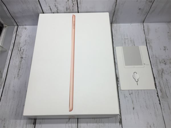 【中古】【安心保証】 SoftBank 9.7iPad 6[セルラー32G] ゴールド