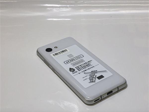 【中古】【安心保証】 SoftBank 803SH ディープホワイト