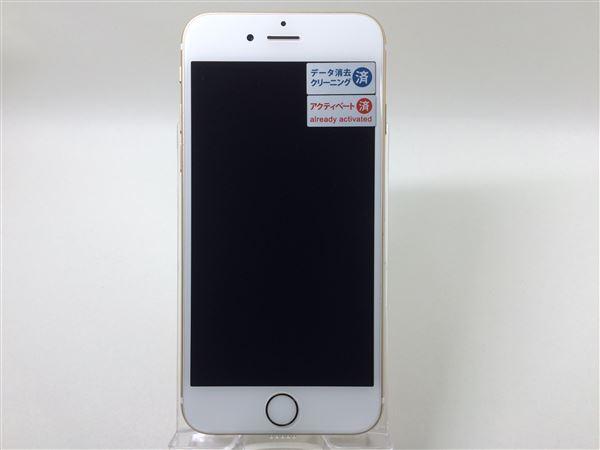 【中古】【安心保証】 SoftBank iPhone6s[64G] ゴールド