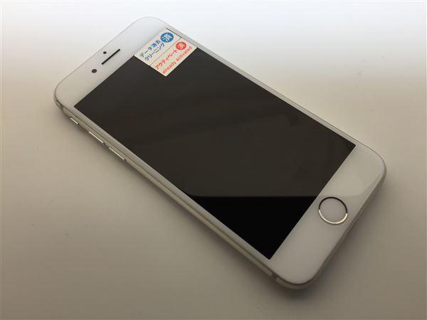 【中古】【安心保証】 au iPhone8[64G] シルバー