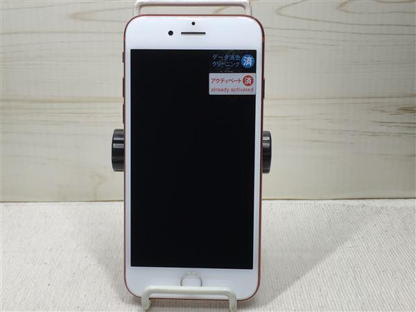 【中古】【安心保証】 SoftBank iPhone7[128G] レッド