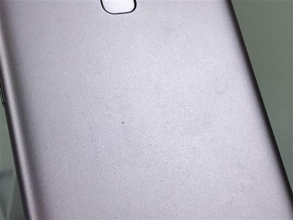 【中古】【安心保証】 SIMフリー ZenFone3Max[32G] ピンク