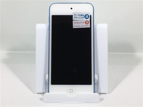 【中古】【安心保証】 iPodtouch_6[64GB](ブルー)MKHE2J