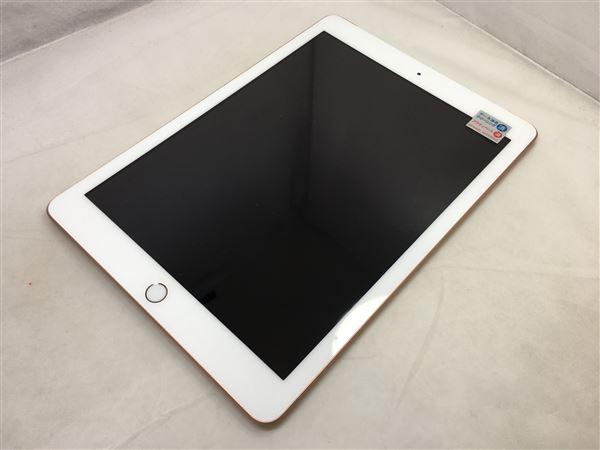 【中古】【安心保証】 au iPad-9.7_6[セルラー32G] ゴールド