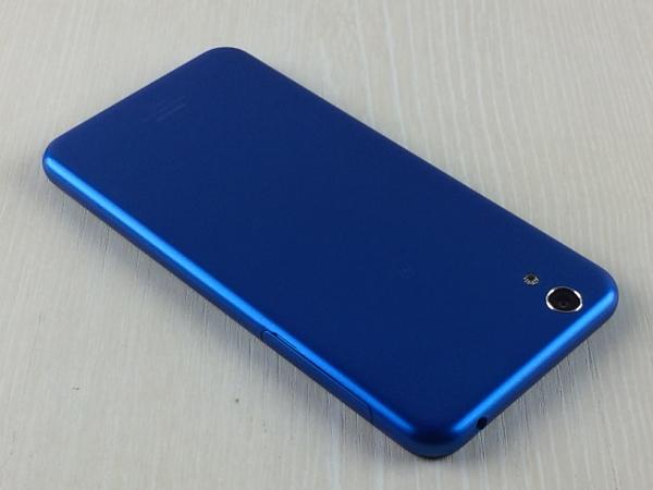 【中古】【安心保証】 UQモバイル AQUOS L SHV37 ブルー