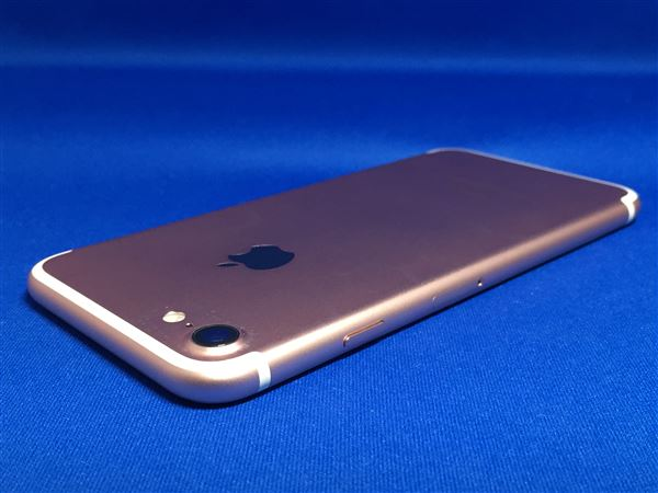 【中古】【安心保証】 au iPhone7[128G] ローズゴールド